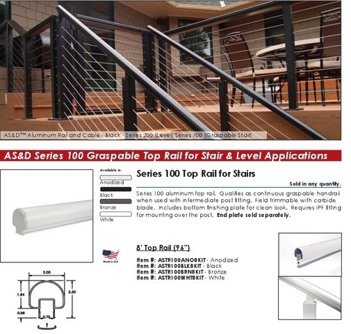 AS&D Series 100 Cable Railings