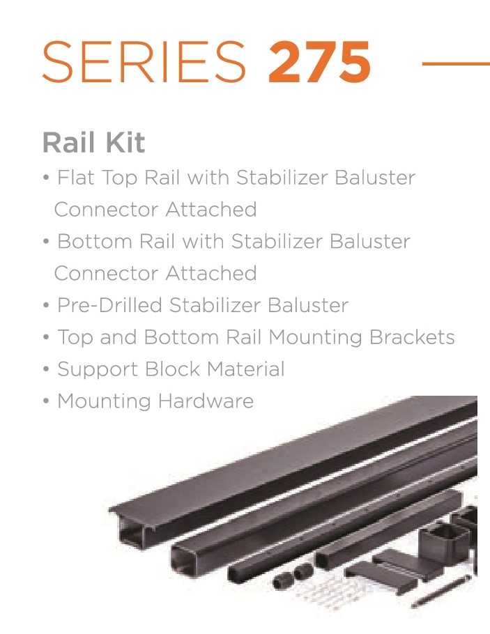 AFCO Series 275 Cable Rail