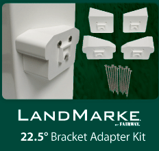 Fairway Vinyl Landmarke bracket kits