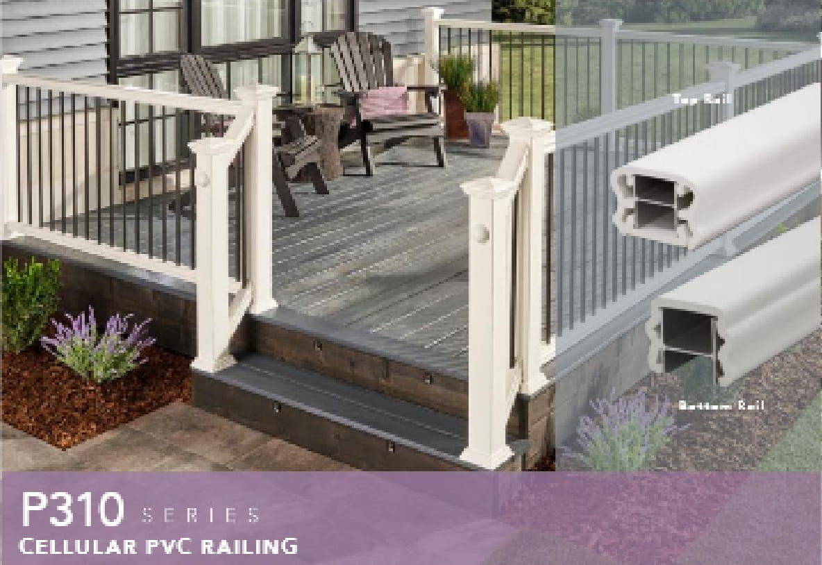Fairway Cellular PVC Railings