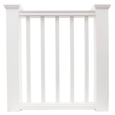 Fairway Cellular PVC Railings - Square balusters
