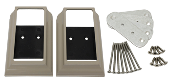Fairway Vinyl Deck Board Cap bracket kits
