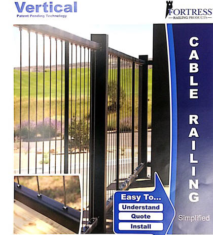 Fortress Vertical Cable Railing System