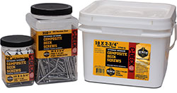 Screw Products C-Deck Stinless Steel Composite Deck Screws