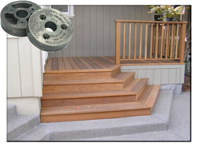Deck2Wall Spacer