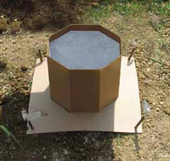how to build round concrete form