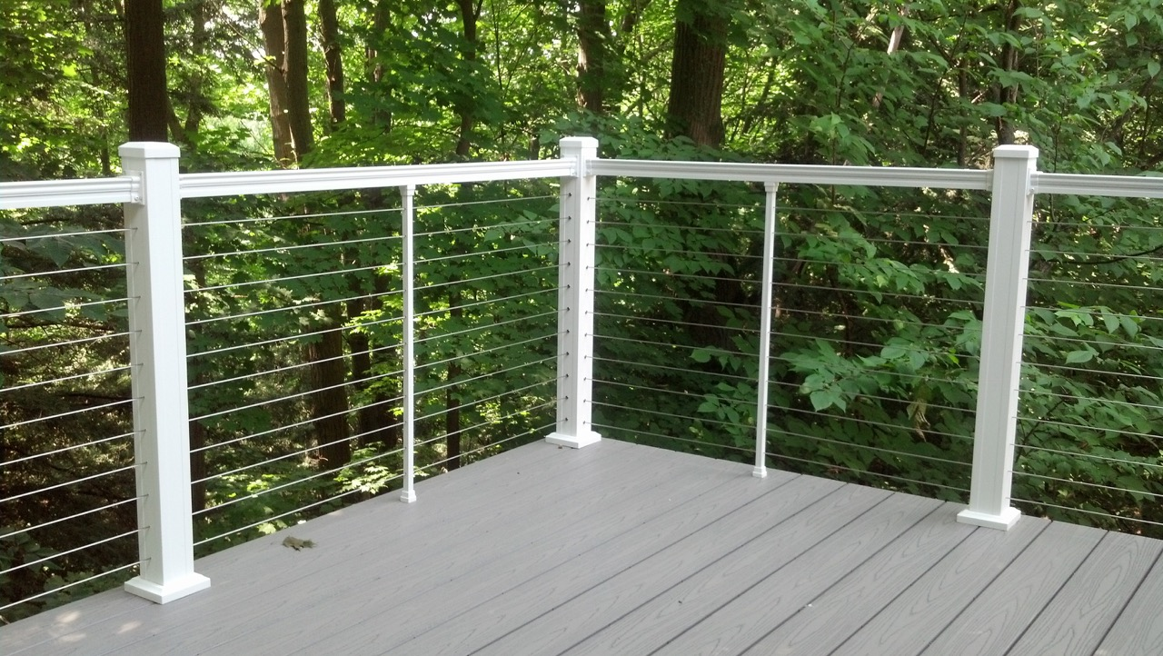 Cable deck railing cost - Cable Deck Railing Cost 22