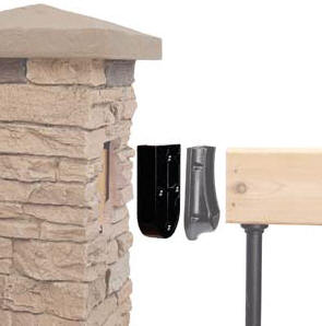Slatestone Faux Stone Column Sleeves Amp Wraps
