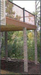 Slatestone Faux Stone Column Sleeves Amp Wraps