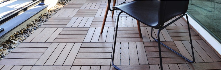 NewTechWood Composite Deck Tiles