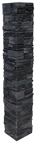 LedgeStone Post Cover - Andean Onyx