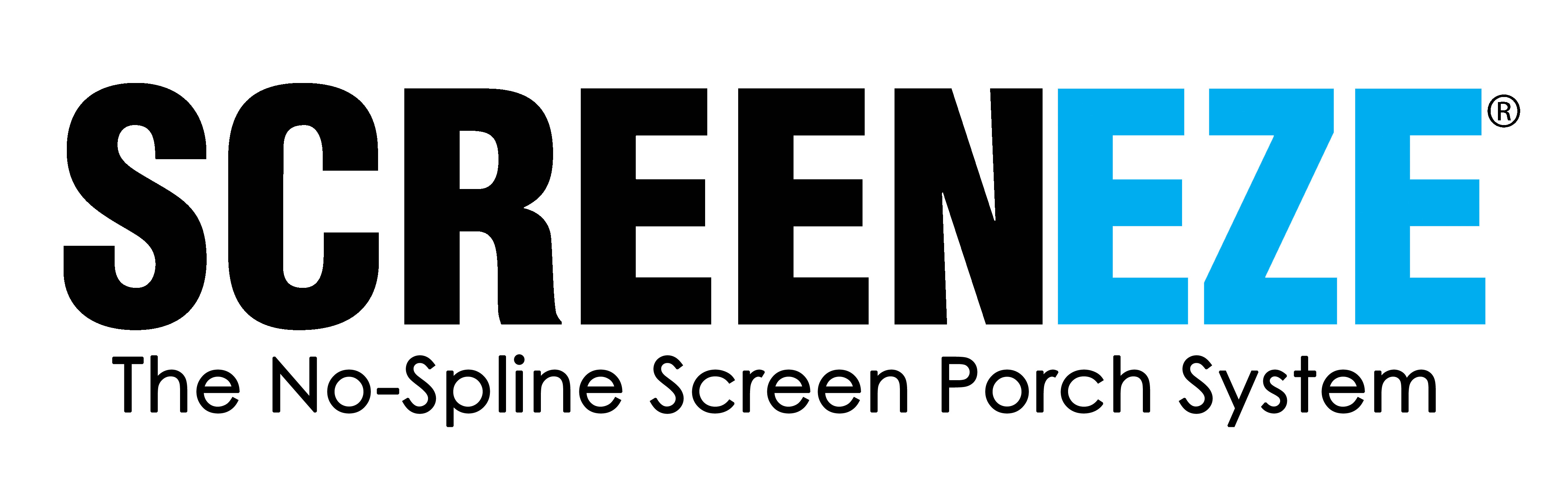 SCREENEZE porch screening system