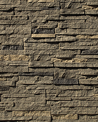 Faux Stacked Stone Panels