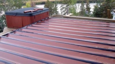 Trex Rain Escape Deck Drainage And Trex Protect Joist Beam
