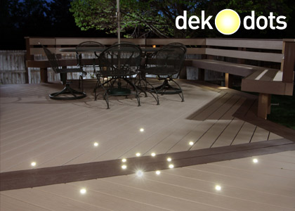 DeKor Deck Dot LED Recessed Lights