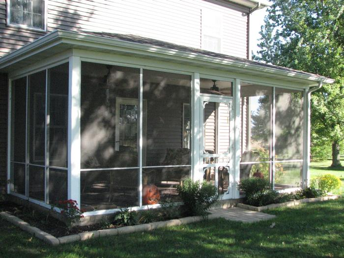 Aluminum Screened In Porches